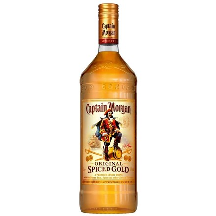 CAPTAIN MORGAN SPICED 1L CAPTAIN MORGAN SPICED GOLD 1LTR