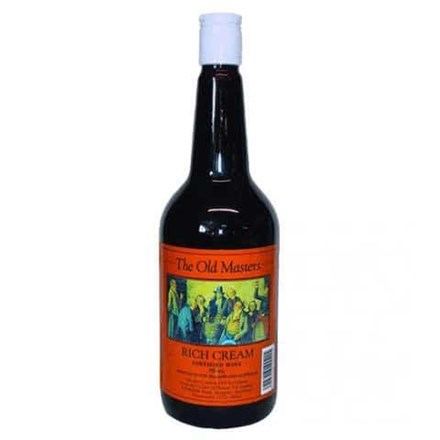 OLD MASTERS RICH CREAM SHERRY 1L OLD MASTERS RICH CREAM SHERRY 1L