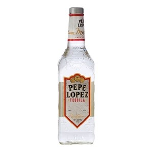 PEPE LOPEZ SILVER TEQUILA 700ML PEPE LOPEZ SILVER TEQUILA 700ML