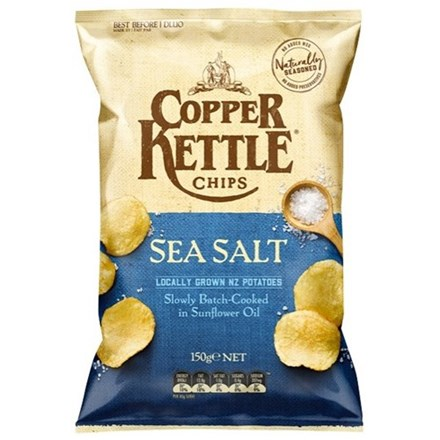 Copper Kettle Chips Sea Salt 150g Copper Kettle Chips Sea Salt 150g