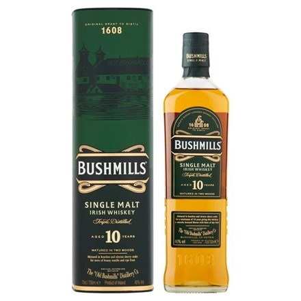 BUSHMILLS 10YRS OLD 700ML BUSHMILLS 10YRS OLD 700ML