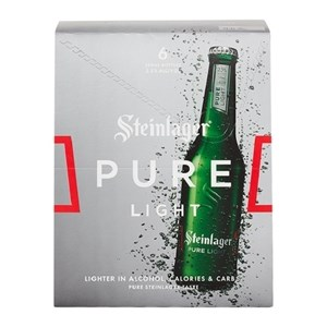 STEINLAGER PURE LIGHT 6PK BTLS STEINLAGER PURE LIGHT 6PK BTLS