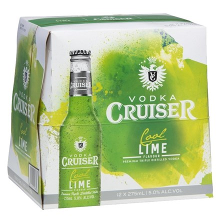 CRUISER COOL LIME - 12pk BTLS CRUISER COOL LIME 12pk BTLS