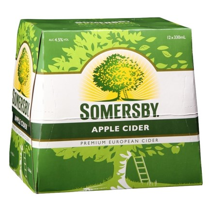 SOMERSBY APPLE 12PK 330ML BTLS SOMERSBY APPLE 12PK 330ML BTLS