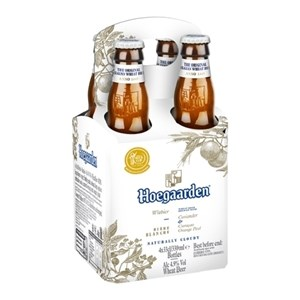 HOEGARDEN IMPORTED 4PK BTLS 330ML HOEGARDEN IMPORTED 4PK BTLS 330ML