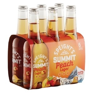 SPEIGHTS SUMMIT PEACH 6PK BTLS 330ML SPEIGHTS SUMMIT PEACH 6PK BTLS 330ML