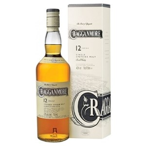 CRAGGANMORE 12YO SINGLE MALT 700ML CRAGGANMORE 12YO SINGLE MALT 700ML