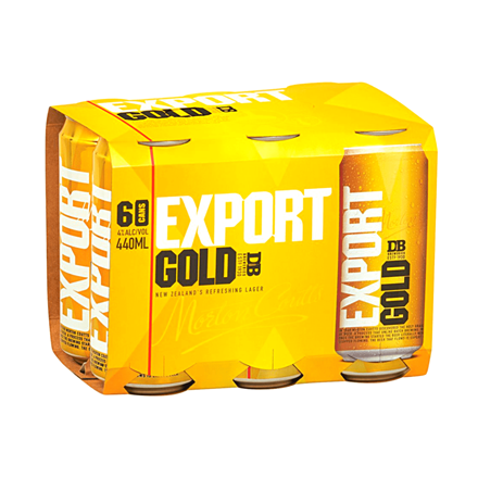 DB EXPORT GOLD 6PACK CANS DB EXPORT GOLD 6PACK CANS