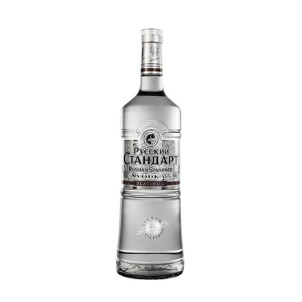 Russian Standard Platinum Vodka 1000ml Russian Standard Platinum Vodka 1000ml
