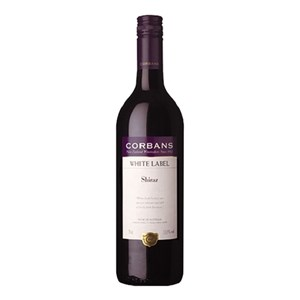 CORBANS WHITE LABEL SHIRAZ 750ML CORBANS WHITE LABEL SHIRAZ 750ML