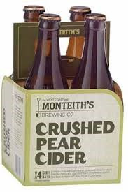 MONTEITH'S CRUSHED PEAR CIDER 4PK BOTTLES MONTEITH'S CRUSHED PEAR CIDER 4PK BOTTLES