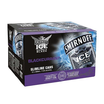 Smirnoff BLACKCURRANT 12PK CANS SMV BLARUNT 12 PK CAN