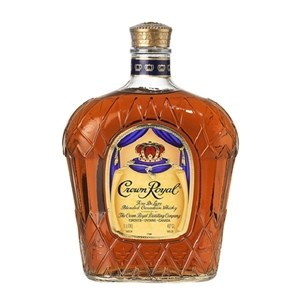 CROWN ROYAL CANADIAN WHISKY 1000ML CROWN ROYAL CANADIAN WHISKY 1LTR