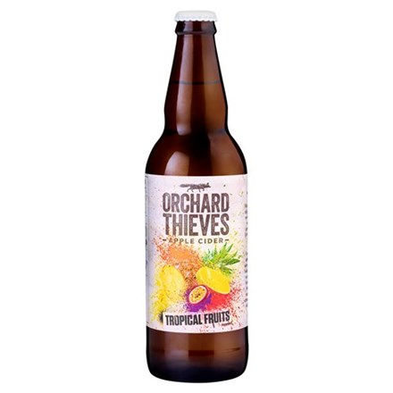 ORCHARD THEIVES TROPICAL FRUITS CIDER 500ML ORCHARD THEIVES TROPICAL FRUITS CIDER 500ML