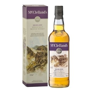 MCCLELLANDS HIGHLAND SINGLE MALT WHISKY 700ML MCCLELLANDS HIGHLAND SINGLE MALT WHISKY 700ML