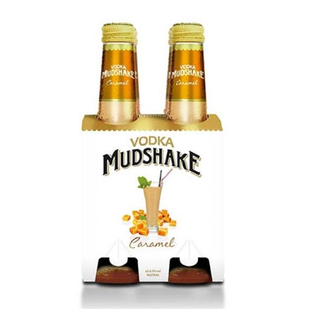 VODKA MUDSHAKE CARAMAL 4 PACK VODKA MUDSHAKE CARAMAL 4 PACK