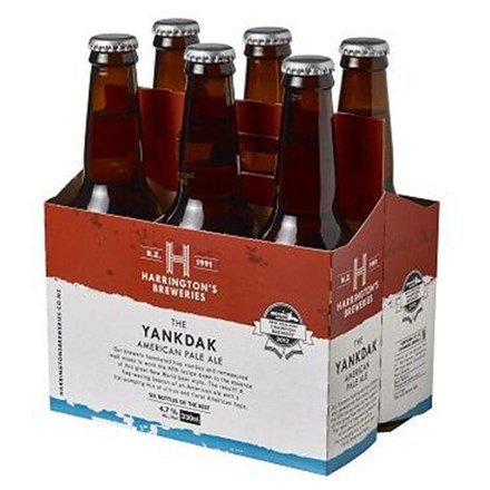 HARRINGTONS YANKDAK APA 6 PACK BOTTLES 330ML HARRINGTONS YANKDAK APA 6 PACK BOTTLES 330ML